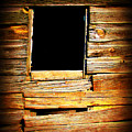 Barn Window by Perry Webster