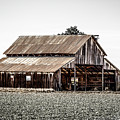 Barn With Outhouse by Gene Parks