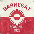 Barnegat Beach Badge by Debbie DeWitt