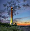 Barnegat Lighthouse At Dusk by Rick Berk