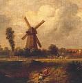 Barnes Common by John Constable