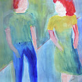 Barney And Elizabeth by Sandy McIntire