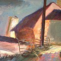 Barns And Pens For The Animals by Bob Dornberg