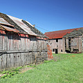 Barns Of Old by Steve Gass