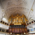 Baroque Pipe Organ In Celle by Jenny Setchell