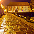 Baroque Town Of Varazdin Square At Evening by Brch Photography