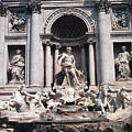 Baroque Trevi Fountain Rome Italy Fontana Di Trevi by Greta Corens