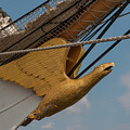 Barque Eagle Masthead by Dale Powell