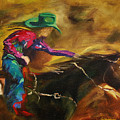Barrel Racer by Diane Whitehead