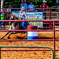 Barrel Racing Contest 4646 by Doug Berry