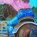 Barrel Rider by Michael Lee