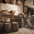 Barrels By The Window by Gary Heller