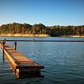 Barren River Lake Dock by Amber Flowers