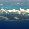 Barrier Island In Caribbean by Carl Purcell