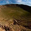 Barringer Meteor Crater #3 by Robert J Caputo
