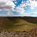 Barringer Meteor Crater #5 by Robert J Caputo