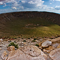 Barringer Meteor Crater #6 by Robert J Caputo