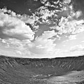 Barringer Meteor Crater by Robert J Caputo
