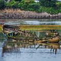 Barry Island Wrecks 2 by Steve Purnell