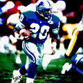 Barry Sanders On The Move by Brian Reaves