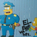 Bart Was Here by Pat Turner