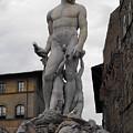 Bartolomeo's Neptune Fountain 2 by Ginger Repke
