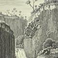 Basalt Rocks And The Cascade De Regla, by Alexander von Humboldt