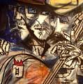Base Boys   Men With Hats by David Grudniski