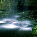 Base Of Waterfall by Roger Soule