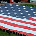 baseball all-star game American flag by Dale Chapel