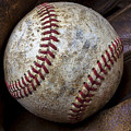 Baseball Close Up by Garry Gay