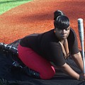 Baseball Girl 3 by Christopher White