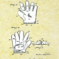 Baseball Glove 1921 Patent by Movie Poster Prints