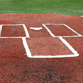 Baseball - Home Plate by Frank Romeo