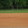 Baseball Infield by Frank Romeo