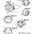 Baseball Training Device Patent 1961 by Bill Cannon