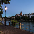 Basel At Night by Didier Marti