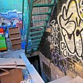 Basement Apartment In Graffiti Alley by John Malone