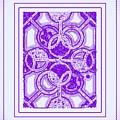 Bases Loaded In Purple by Art Speakman
