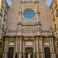 Basilica In Montserrat by Joan Carroll