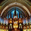 Notre - Dame Basilica - Montreal by Juergen Weiss