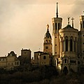 Basilica Of Our Lady Of Fourviere  by Katie Wing Vigil