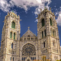 Basilica Of The Sacred Heart Newark New Jersey by Geraldine Scull
