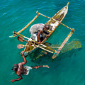Basket Fishing In Mozambique by Gregory Daley  MPSA