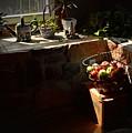 Basket Of Apples by Aaron  Shortt