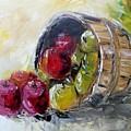 Basket Of Apples by Craig Wade