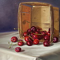 Basket Of Cherries by Arnold Hurley