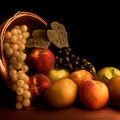 Basket Of Fruit by Tom Mc Nemar