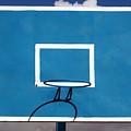 Basketball Backboard by Robert Hamm