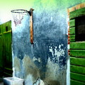 Basketball Court by Funkpix Photo Hunter